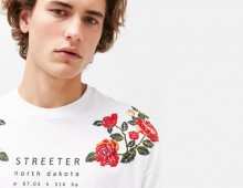 STREETER, for Bershka man